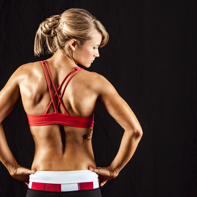 """""""Woman's Back"""" stock image"""