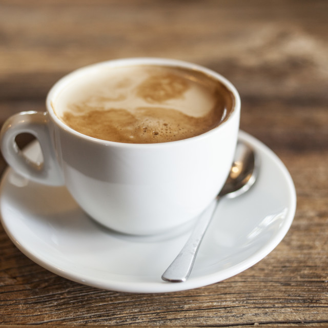 """Cup of coffee"" stock image"