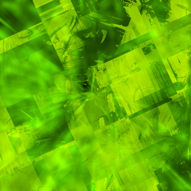 """""""Lime Green Computer Generated Design"""" stock image"""
