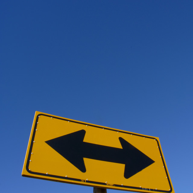 """""""Directional Sign"""" stock image"""