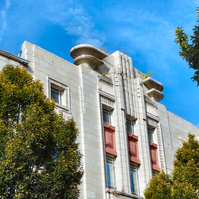 """Art Deco Building"" stock image"