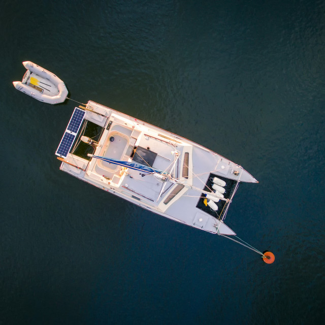"""Catamaran"" stock image"