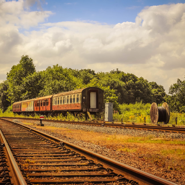"""Old Railway"" stock image"