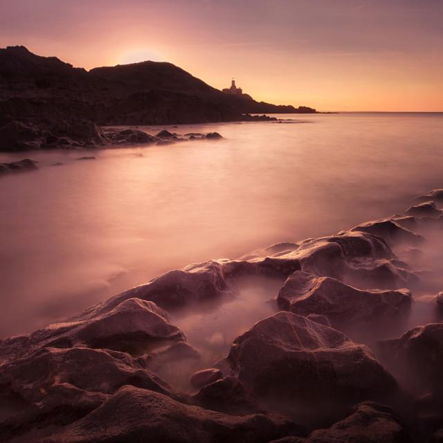 """Bracelet Bay, Swansea"" stock image"