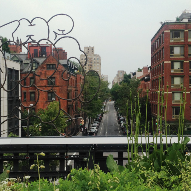 """The Highline, New York"" stock image"