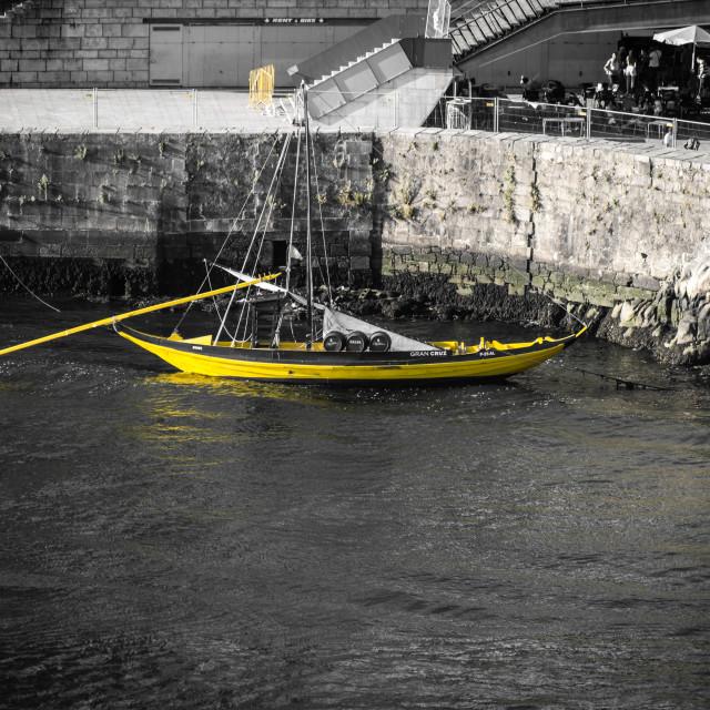 """""""""""Rabelo"""" boat"""" stock image"""