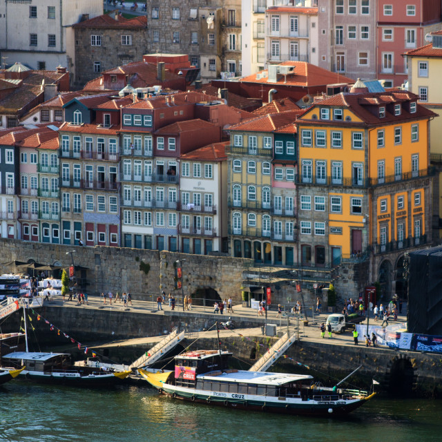 """Detail of Porto's landscape"" stock image"