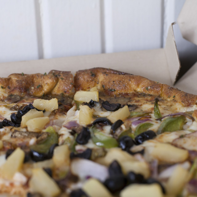 """Vegetarian Pizza"" stock image"