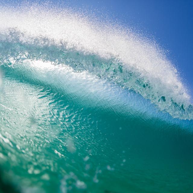 """Wave Ocean Inside Water"" stock image"