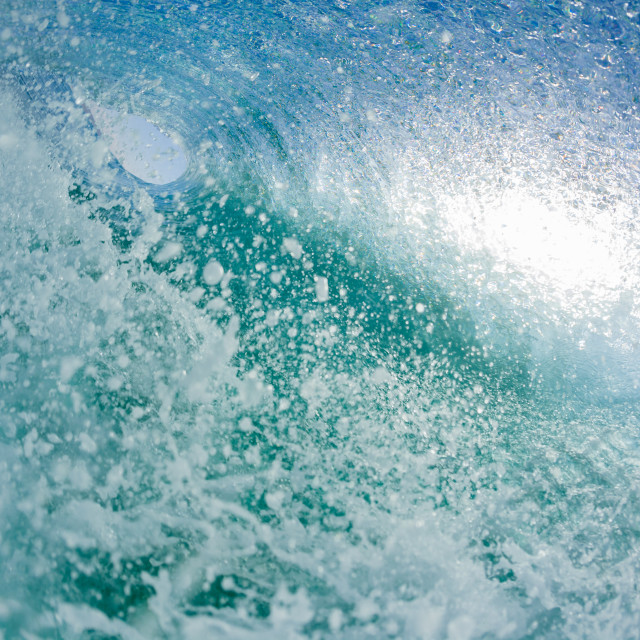 """""""Wave Hollow Inside"""" stock image"""
