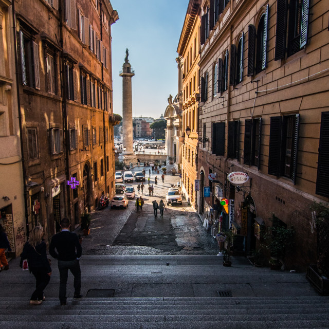"""Streets of Rome."" stock image"