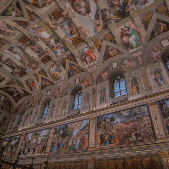 """Sistine Chapel."" stock image"