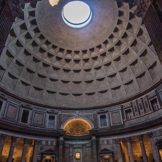"""The Pantheon - Rome"" stock image"