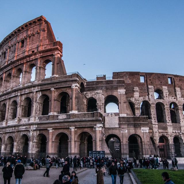 """Roma Colosseum."" stock image"