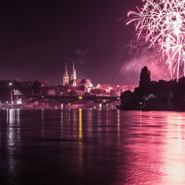 """Festival in Switzerland!"" stock image"