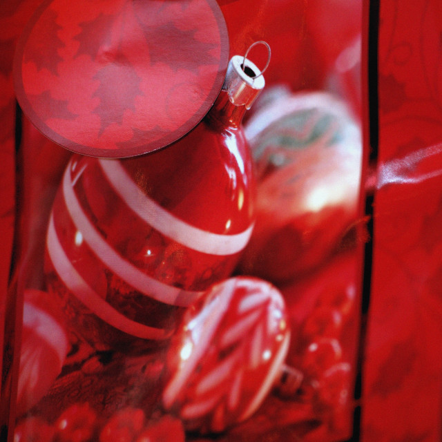"""Close-Up Of Christmas Bag"" stock image"