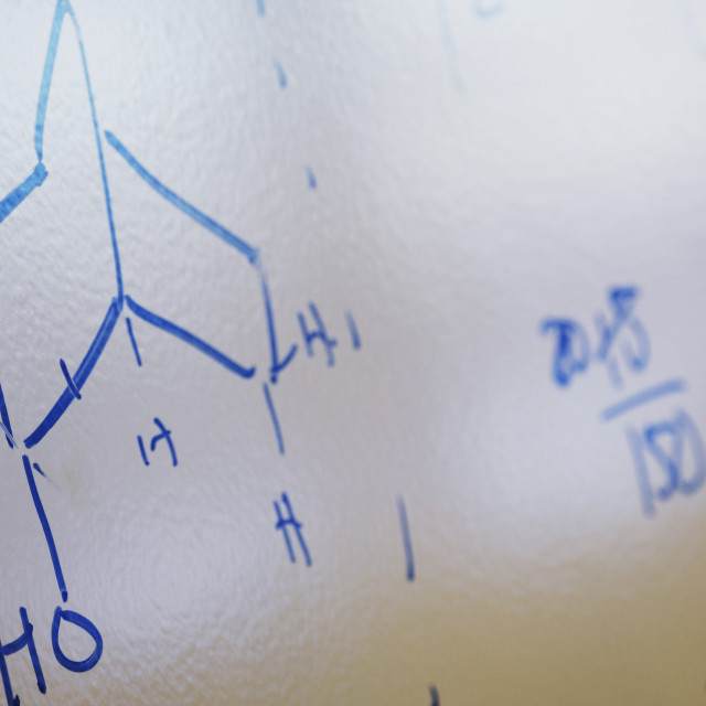 """""""Chemical Formula Of Water"""" stock image"""
