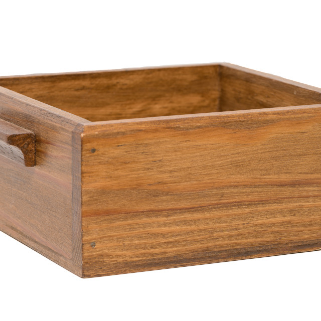 """Small wooden box"" stock image"