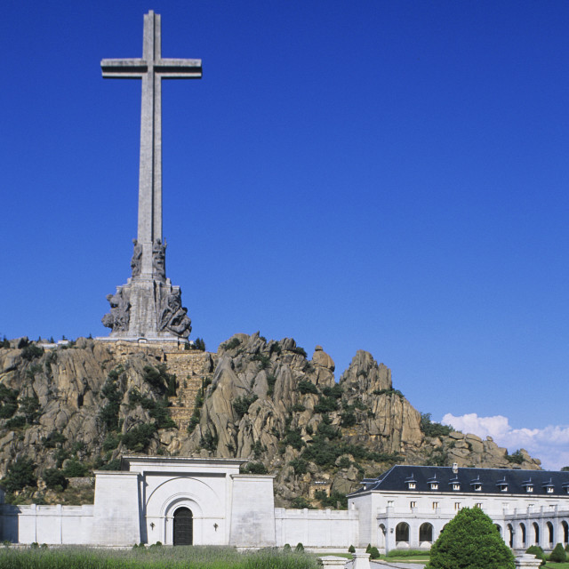 """Valle De Los Caidos - The Resting Place Of General Franco"" stock image"