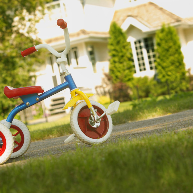 """Tricycle"" stock image"