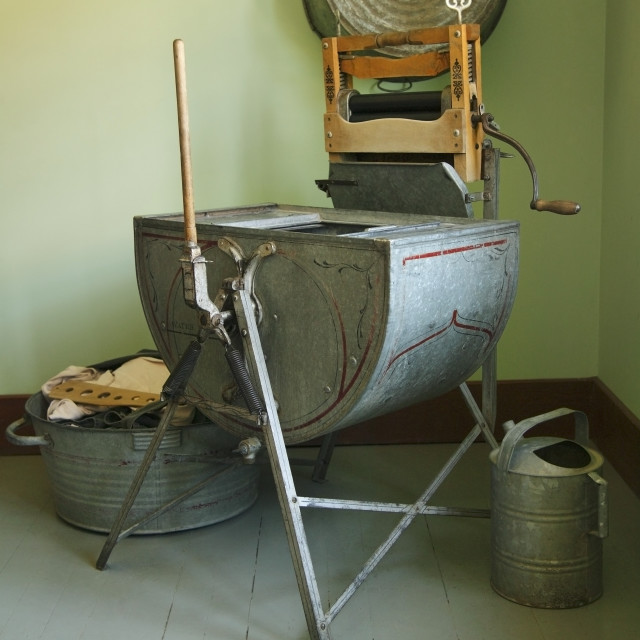 """""""Old Fashioned Laundry Room"""" stock image"""