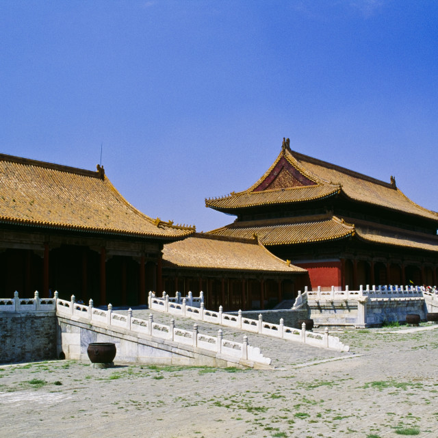 """The Forbidden City, Beijing, China"" stock image"
