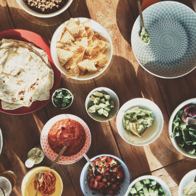 """mexican dinner"" stock image"