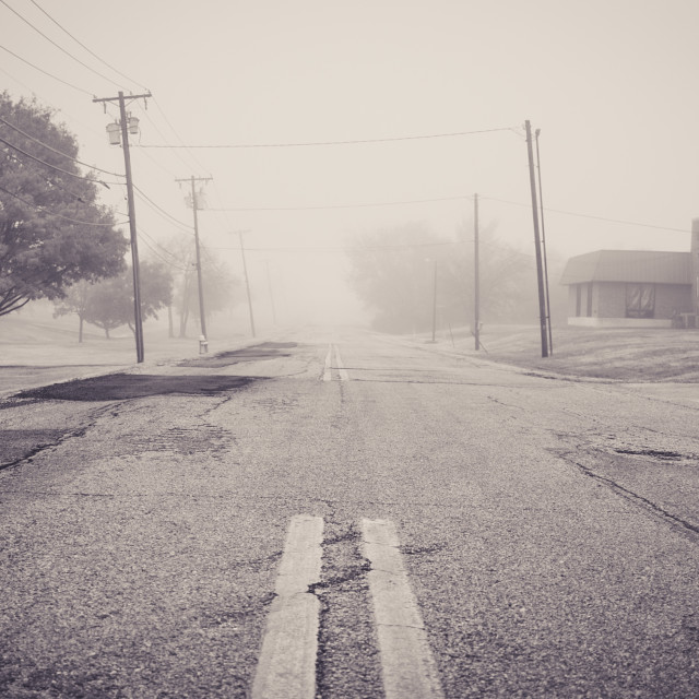 """""""lonely road usa"""" stock image"""