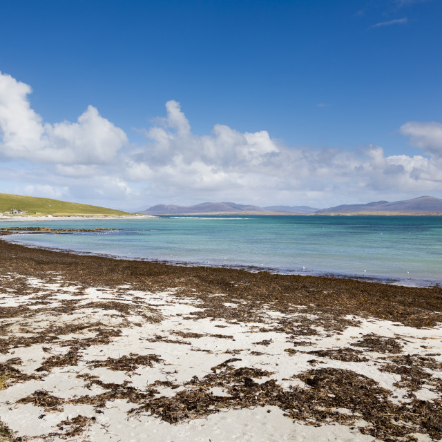 """East Beach, Berneray, North Uist, Outer Hebrides, Scotland, United Kingdom,..."" stock image"