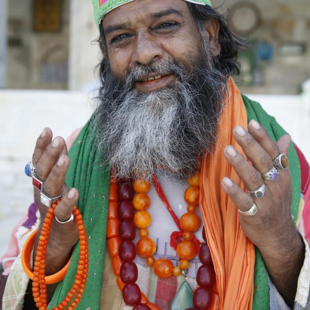 """Ajmer Sharif dargah, Rajasthan. Sufi. India."" stock image"