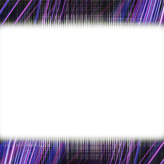 """Purple light trails frame"" stock image"