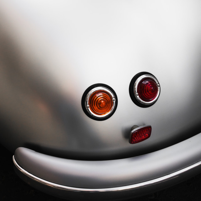 """Smiley Car"" stock image"