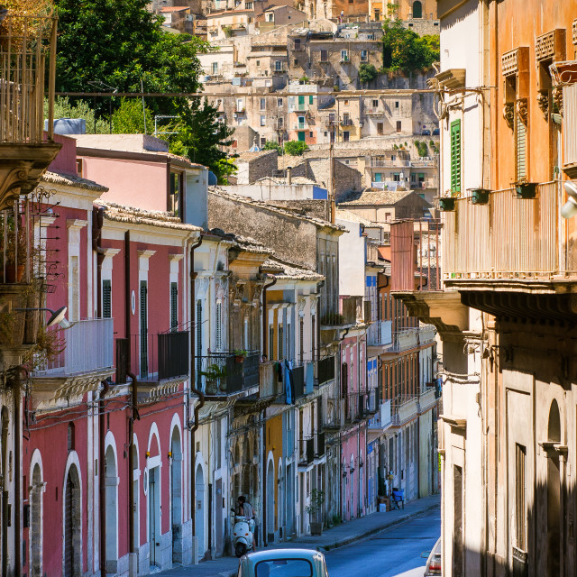 """Sicily - Ragusa Ibla - Award-winning travel image"" stock image"