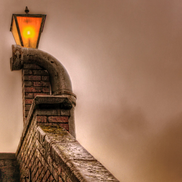 """""""light in the gloom"""" stock image"""