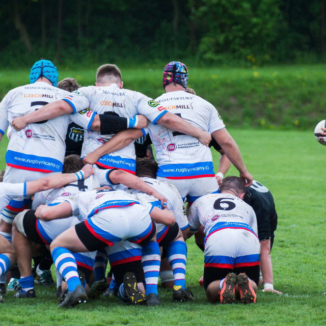"""Rugby 6"" stock image"