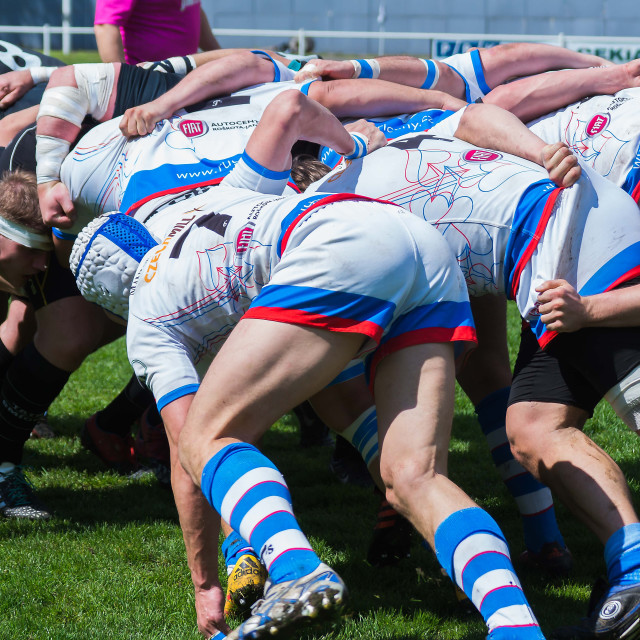 """Rugby 4"" stock image"