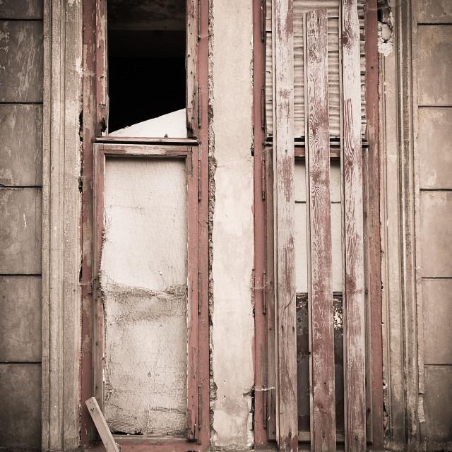 """""""Abandoned house 2"""" stock image"""