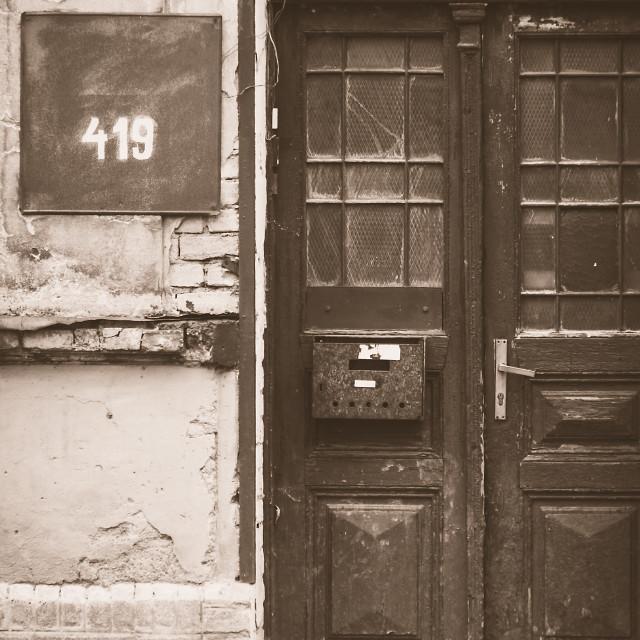"""""""Abandoned house 7"""" stock image"""