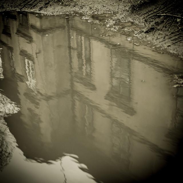 """""""Abandoned house 1"""" stock image"""