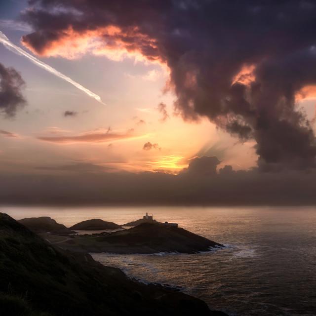 """""""Mushroom cloud sunrise"""" stock image"""