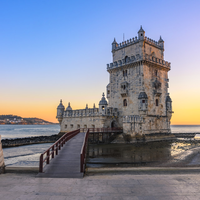 """Belém Tower in Lisbon, Portugal"" stock image"