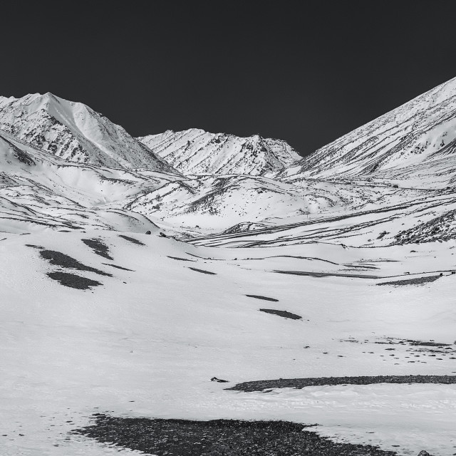"""""""The Grand Himalayan Landscape - 12"""" stock image"""