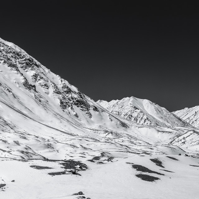 """""""The Grand Himalayan Landscape - 13"""" stock image"""