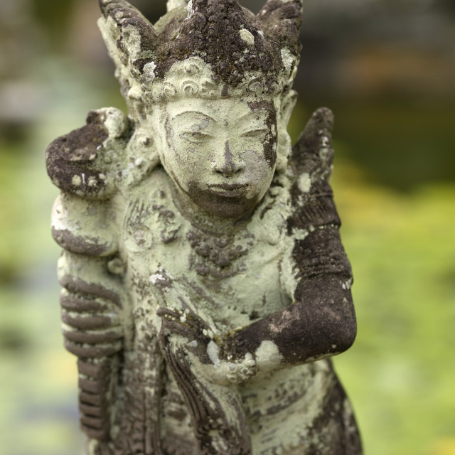 """""""Statue In Klungkung; Bali, Indonesia, Asia"""" stock image"""