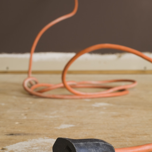 """""""Extension Cord"""" stock image"""