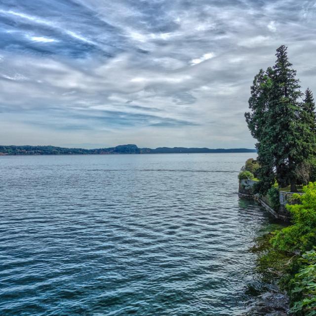"""""""Lake Maggiore"""" stock image"""