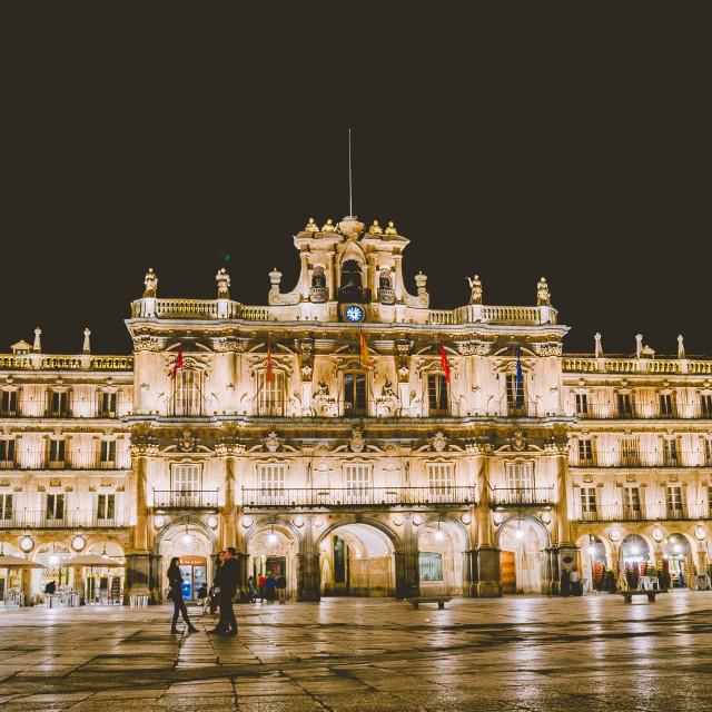 """Plaza Mayor, Salamanca"" stock image"