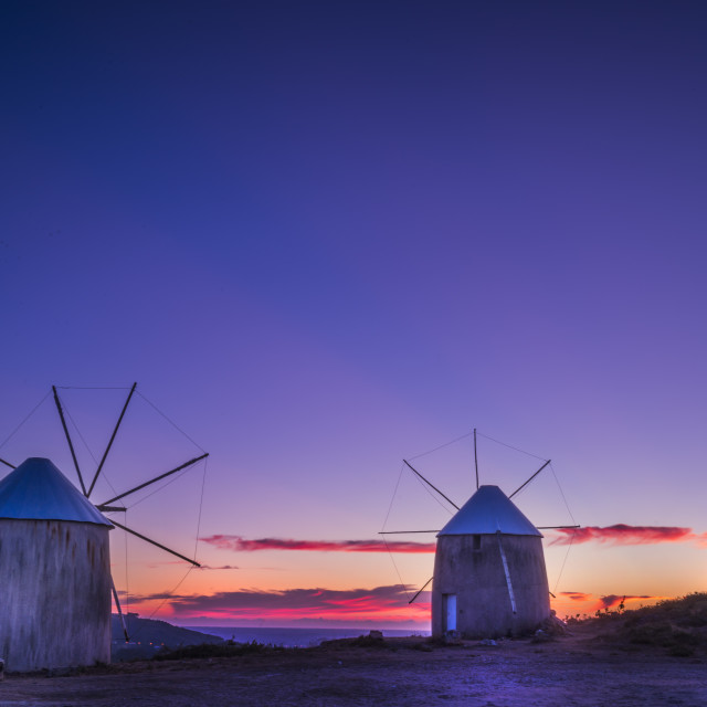 """""""Gavinhos Windmills II"""" stock image"""