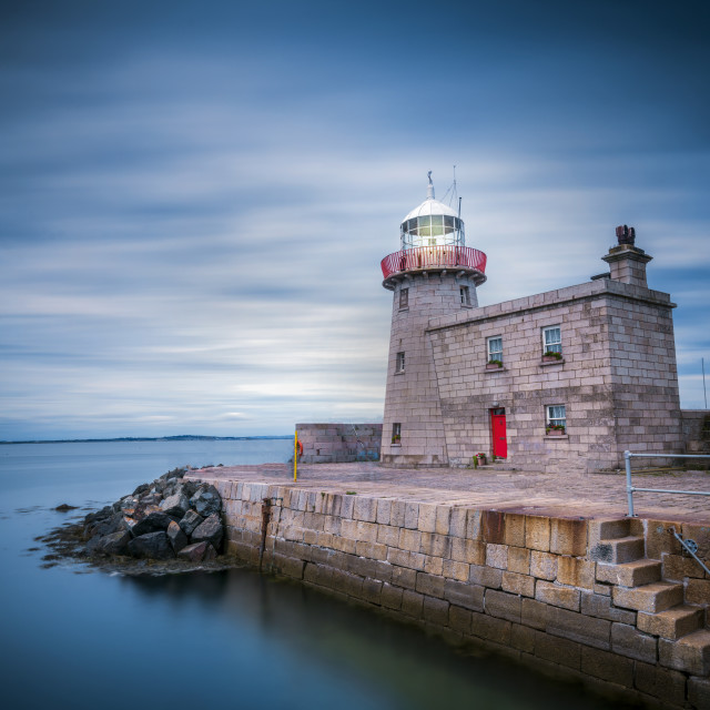 """Howth lighthouse"" stock image"