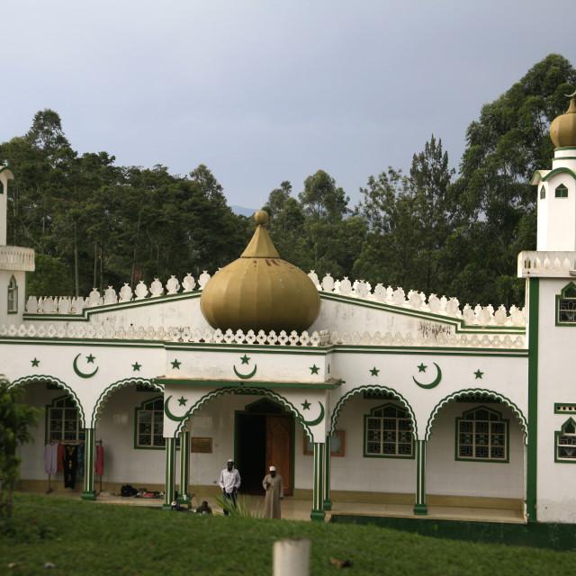 """mosque in Fort Portal in Uganda.November 25, 2010{iptc date}20101125"" stock image"